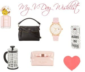 My V-Day Wishlist 2014