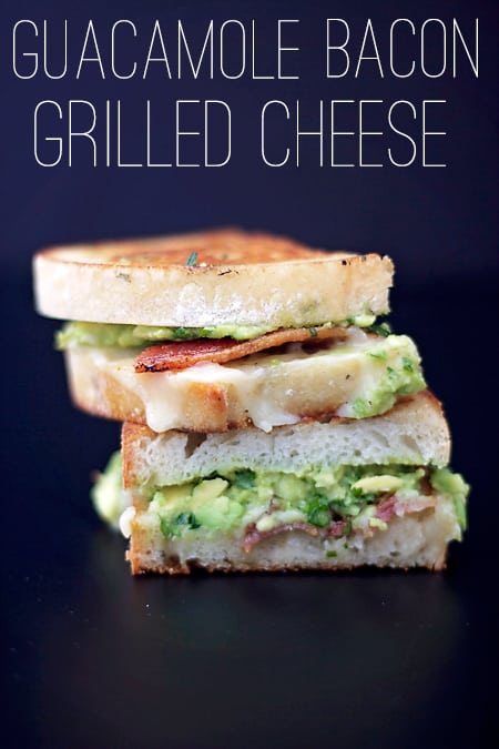 Also known as Guacamole-Bacon Grilled Cheese. These were heavenly. I ...