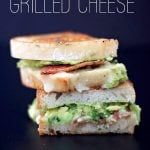 Guac-Bac Grilled Cheese