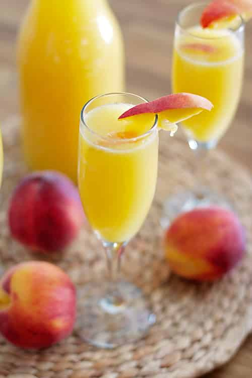 recipes peachy mimosas peachy waffle sauce pineapple mimosas