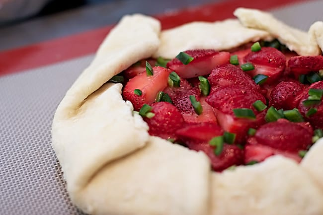 Strawberry Jalapeno Crostata