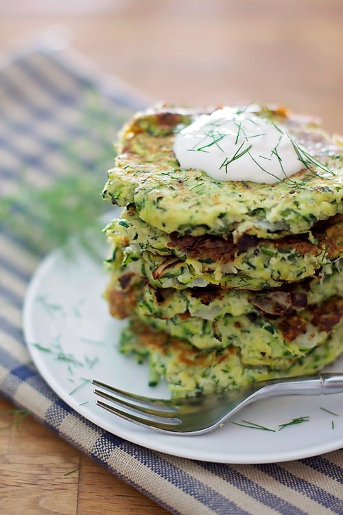 Zucchini Dill Fritters