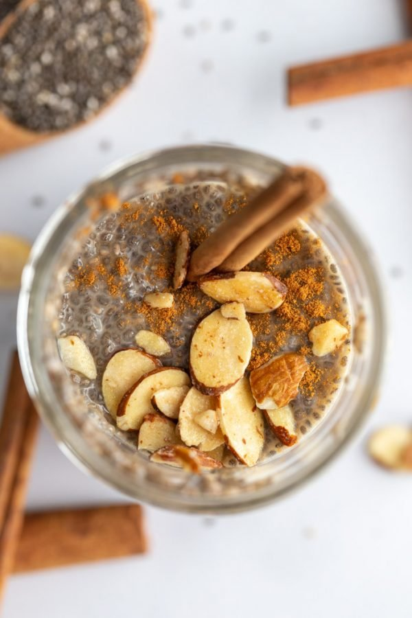 vegan chia seed pudding