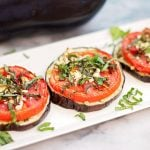 Roasted Eggplant with Tomato and Feta