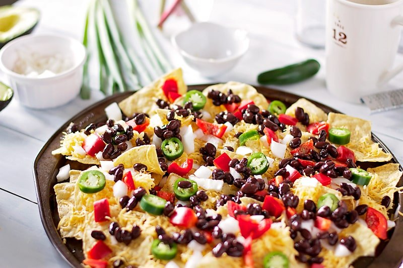 ... THESE breakfast nachos from normal ole lunch/ dinner/ snack nachos