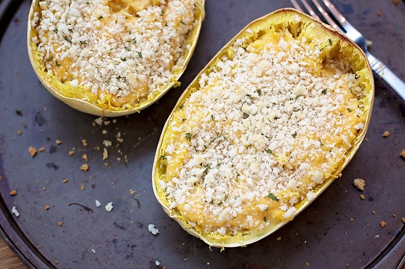 ... baked spaghetti squash and cheese recipe yummly baked spaghetti squash