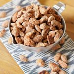 Pumpkin Spice Candied Almonds and Pecans