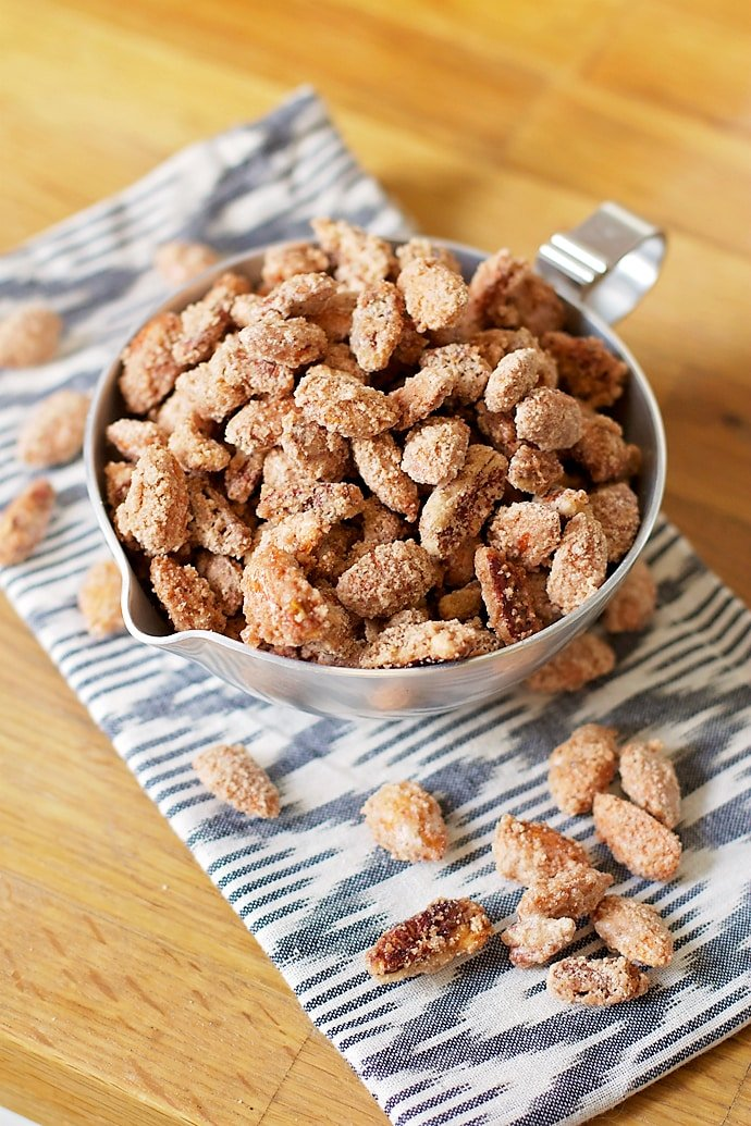 these nuts sugar and spice candied nuts and spicy candied walnuts ...