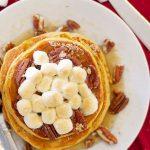 Sweet Potato Casserole Pancakes