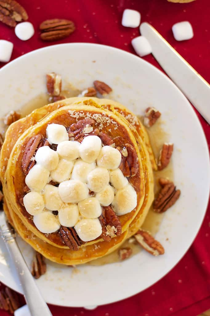 ! We have arrived at such time that sweet potato casserole (pancakes ...