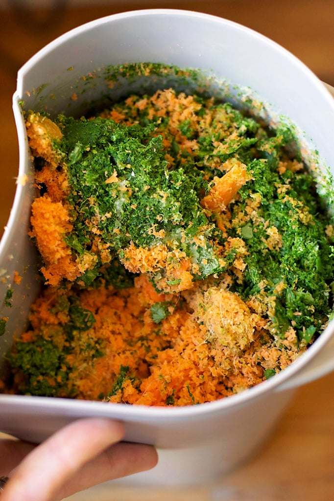green juice pulp
