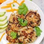 Quinoa, Turkey, and Veggie Patties