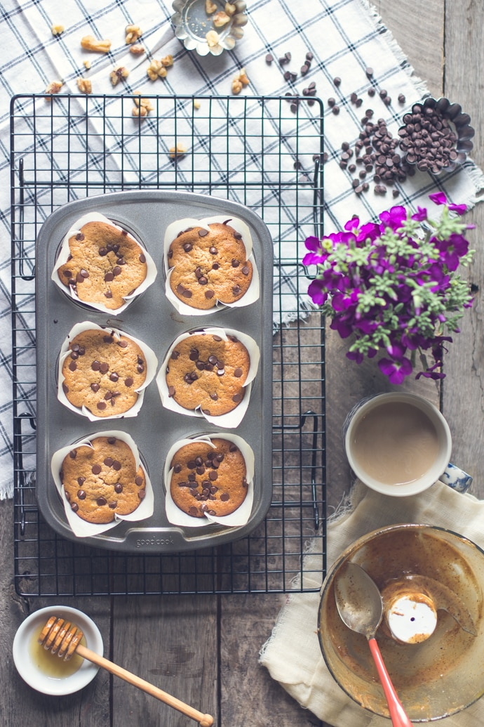 Gluten Free Banana Nut Muffins 12