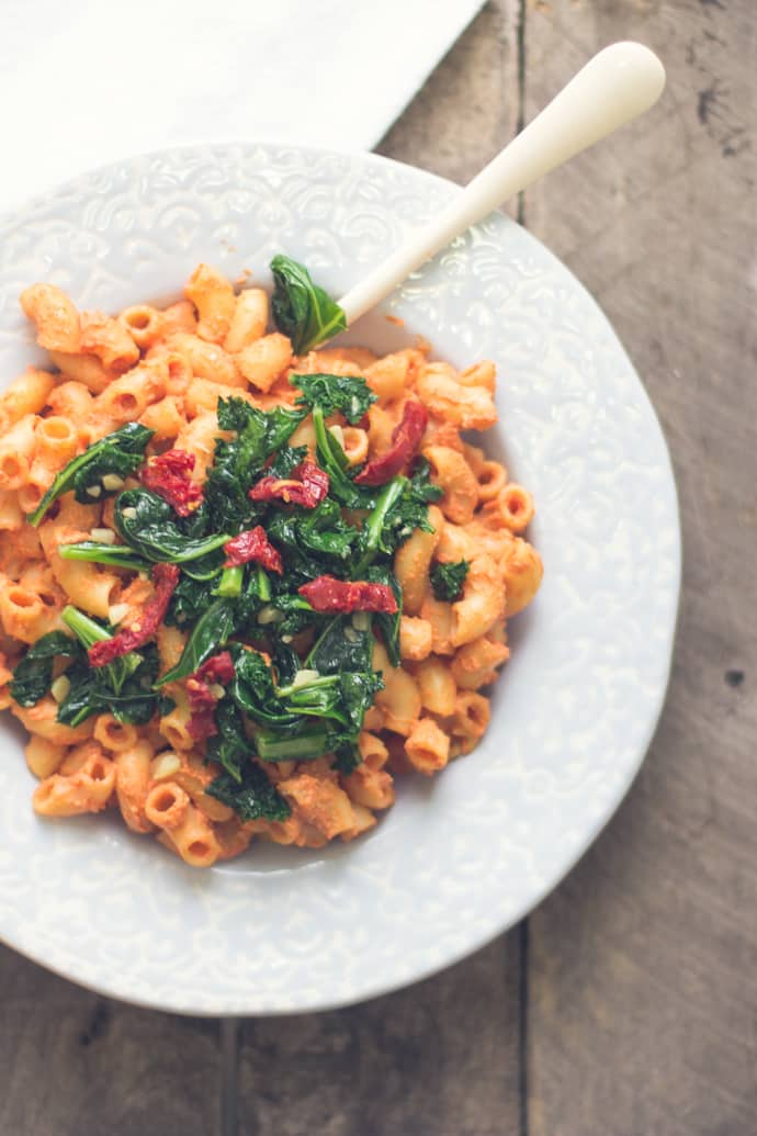 Vegan Smoked Tomato Pasta Food With Feeling