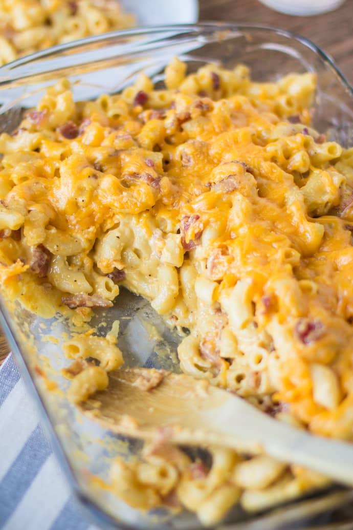 Bacon Mac n Cheese-20