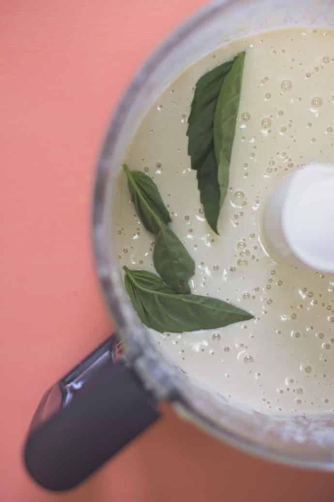 Creamy Basil Cashew Sauce-4