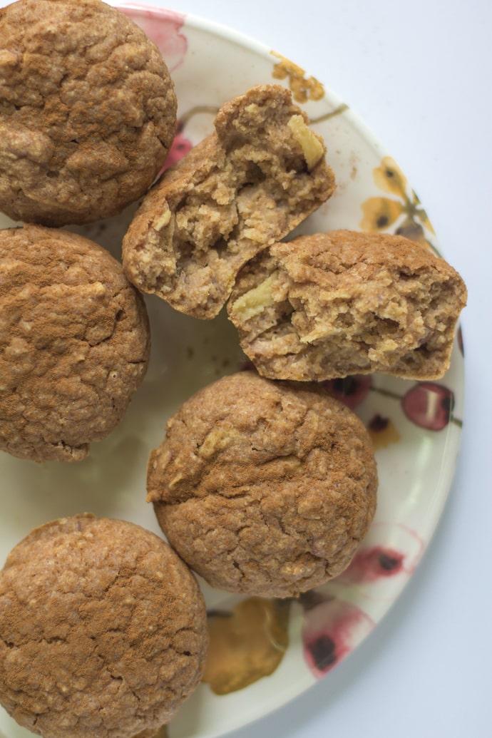apple cinnamon muffins vegan-20