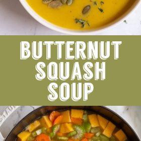 Sopa Vegan De Abóbora Butternut | Comida com sentimento 2