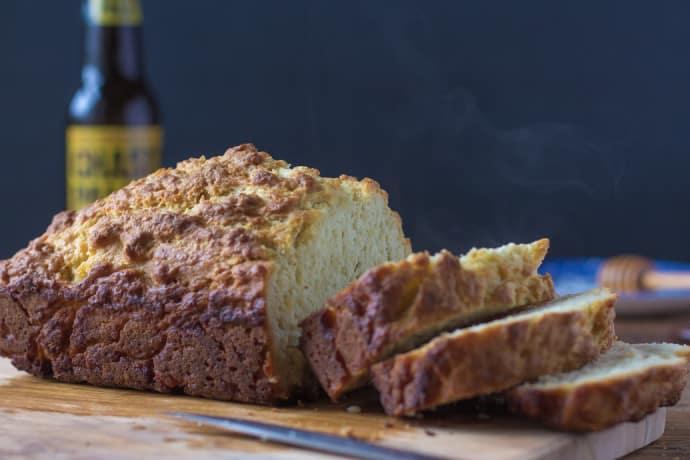 Honey Beer Bread-18