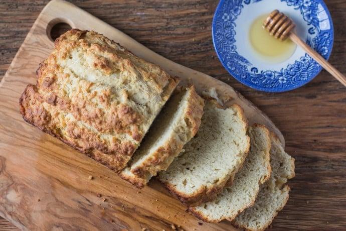 Honey Beer Bread-19