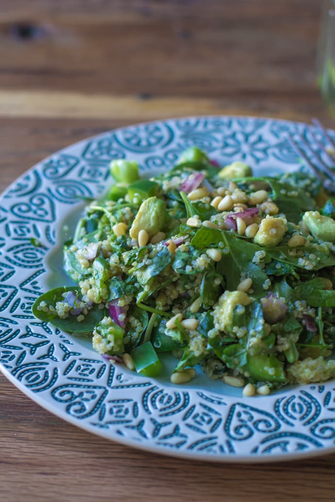 Quinoa Green Goddess Salad-5