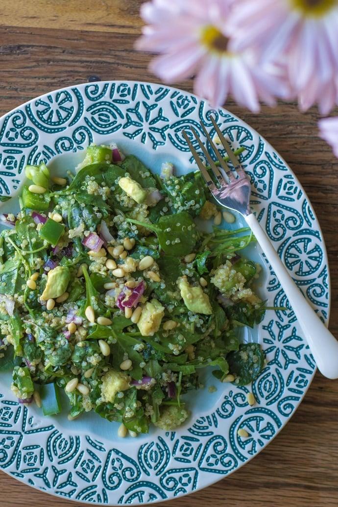 Quinoa Green Goddess Salad-7