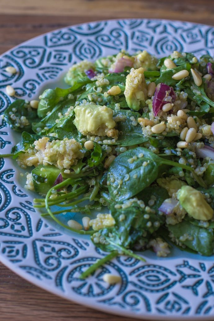Quinoa Green Goddess Salad-8