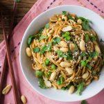 Quick & Easy Soy-Peanut Noodles