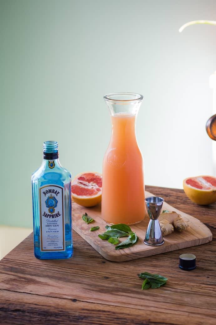 Zorra Cocktail Ginger Basil Grapefruit-1