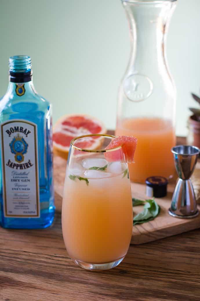 Zorra Cocktail Ginger Basil Grapefruit-2