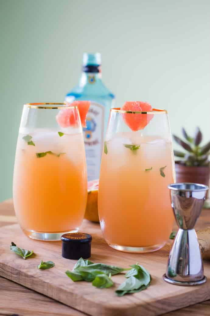 Zorra Cocktail Ginger Basil Grapefruit-5