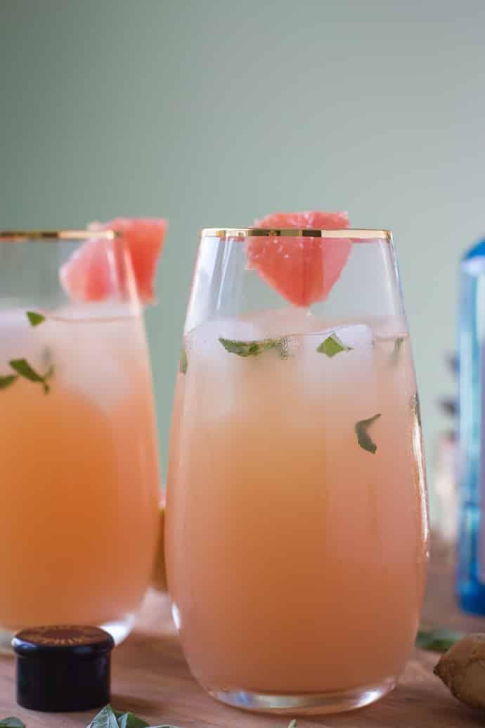 Zorra Cocktail Ginger Basil Grapefruit-8