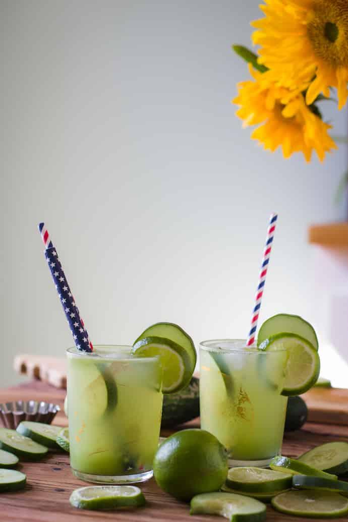 cucumber lime tequila margarita-10