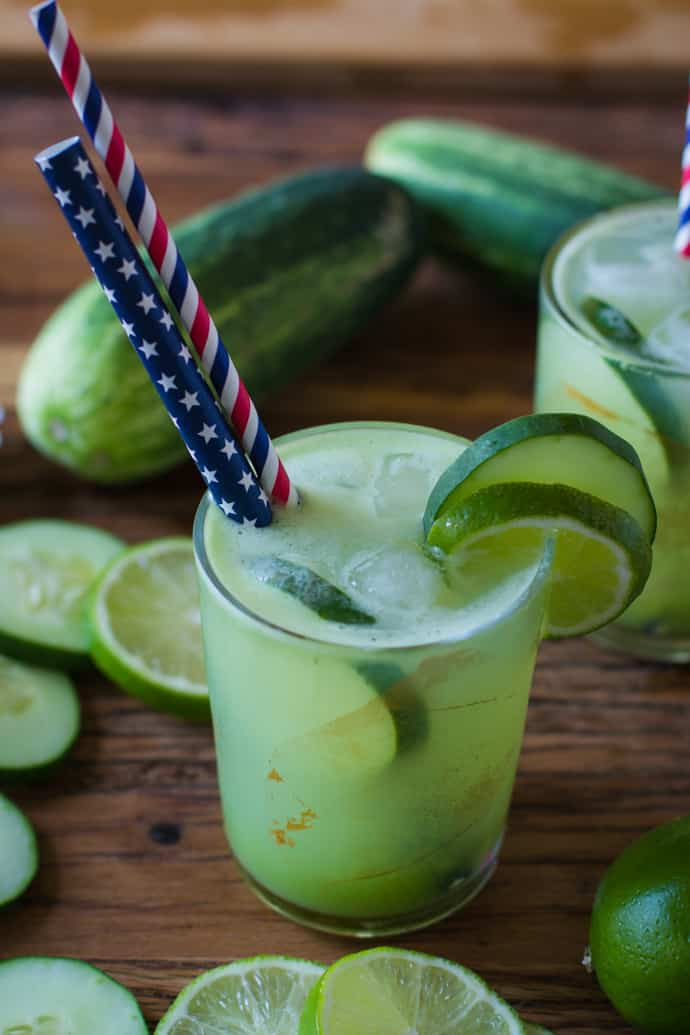 cucumber lime tequila margarita-13
