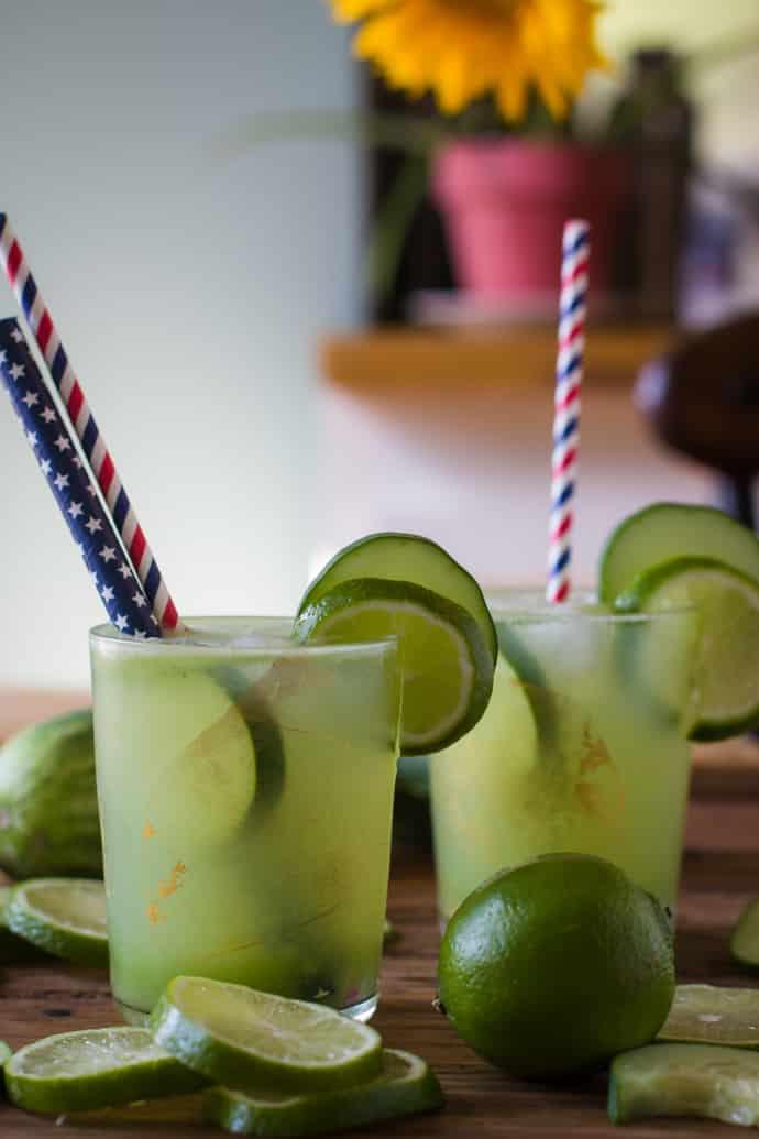 cucumber lime tequila margarita-14