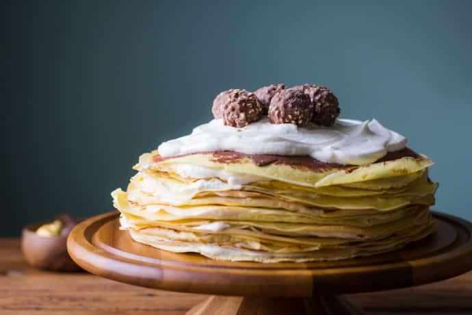 Baileys Crepe Cake-7