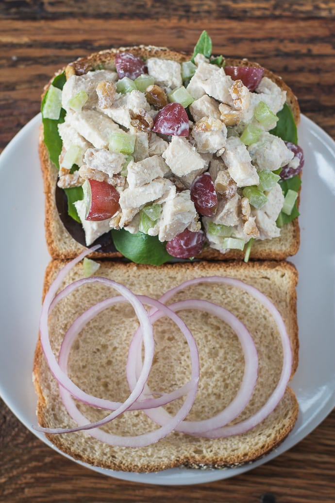 greek yogurt chicken salad-8