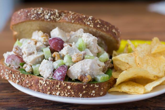 greek yogurt chicken salad-9