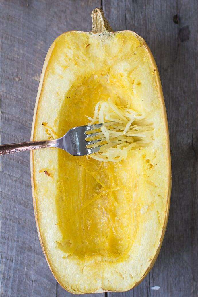 spaghetti squash soy-peanut noodles-1