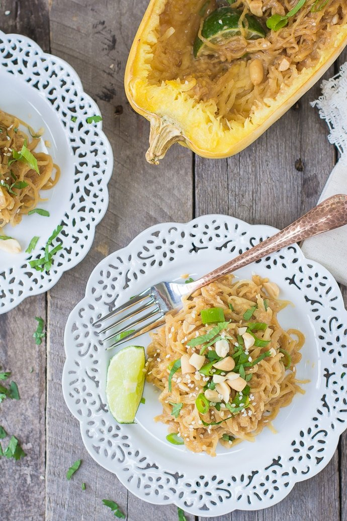 spaghetti squash soy-peanut noodles-11