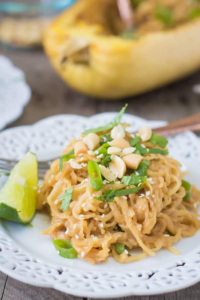 spaghetti squash soy-peanut noodles-13