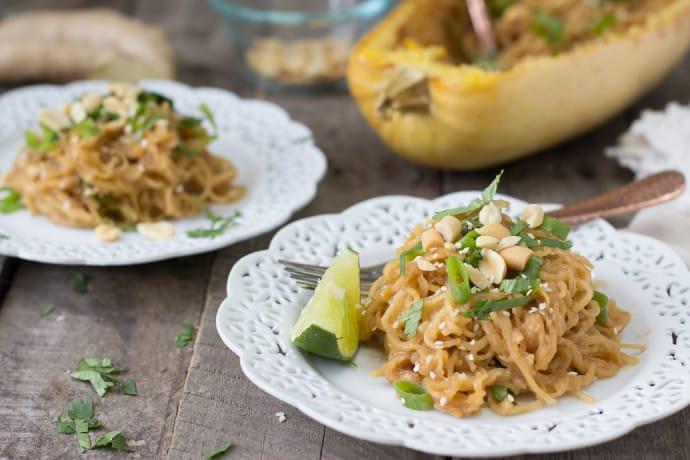 spaghetti squash soy-peanut noodles-14