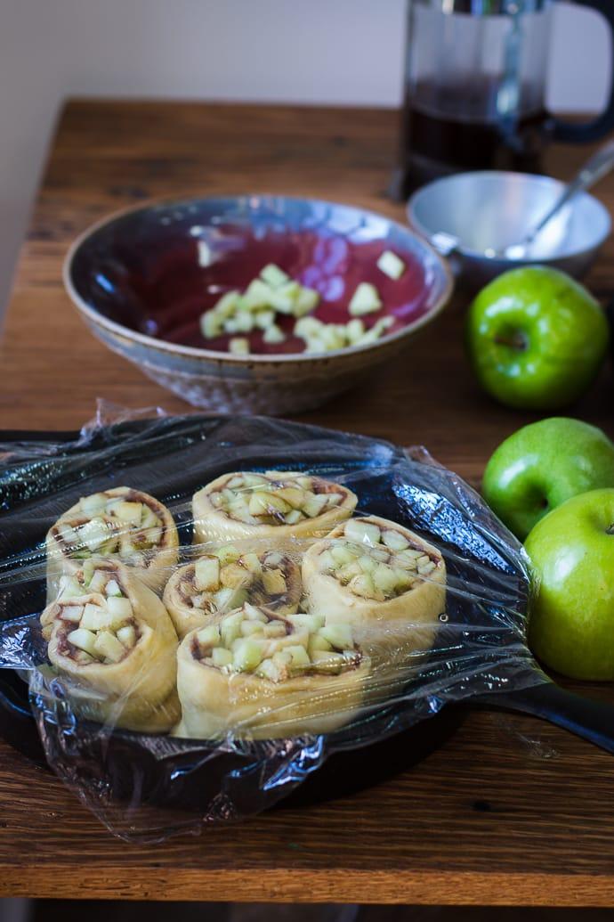 Apple Pie Cinnamon Rolls-6