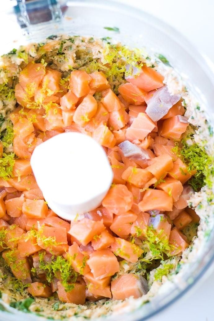 Cilantro Lime Salmon Burger-4