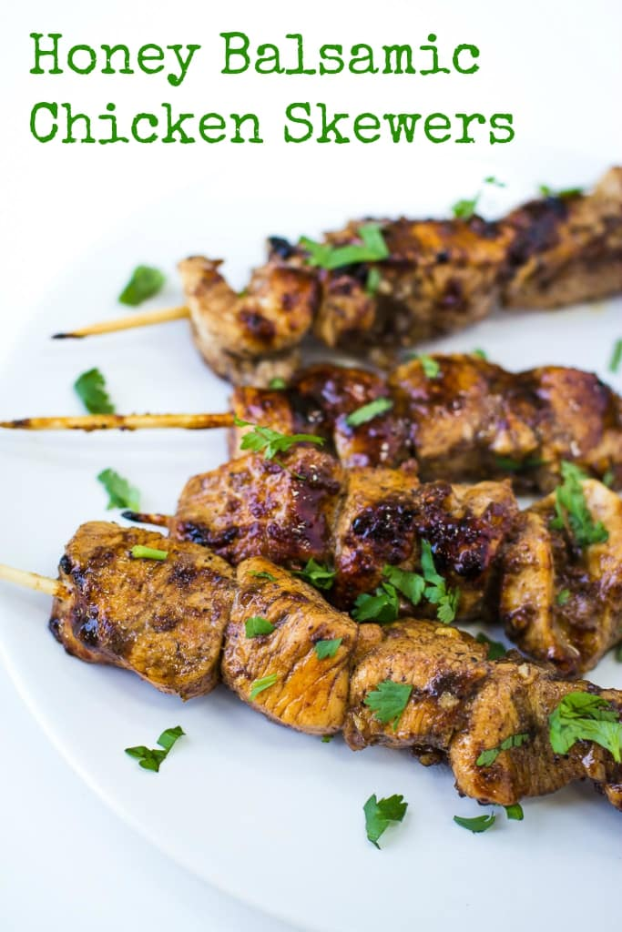 Honey Balsamic Chicken Skewers | B. Britnell