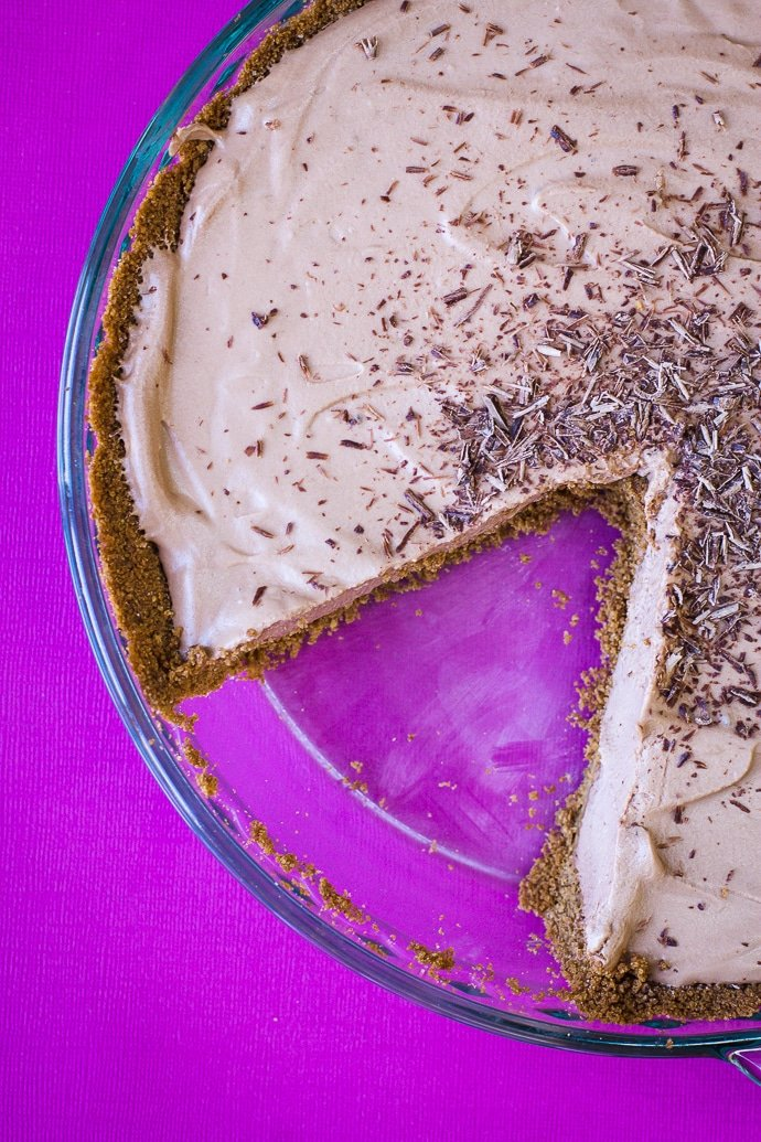 no bake baileys pie-12