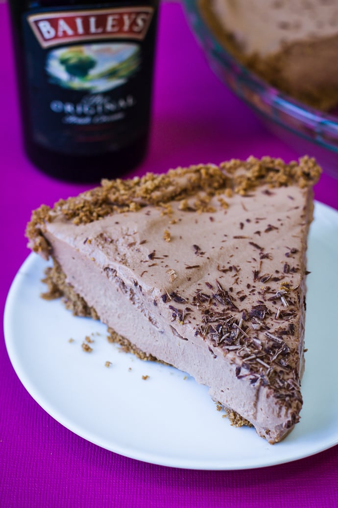 no bake baileys pie-14