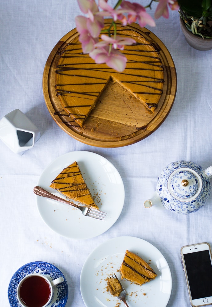 pumpkin cheesecake-15
