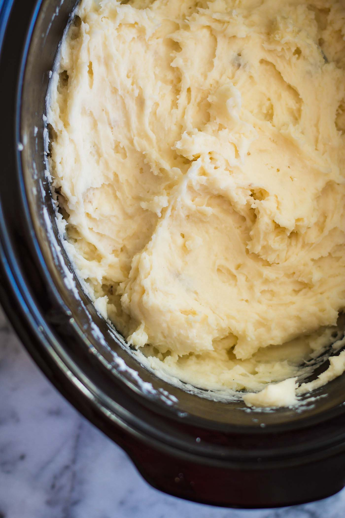 how to make mashed potatoes more creamy