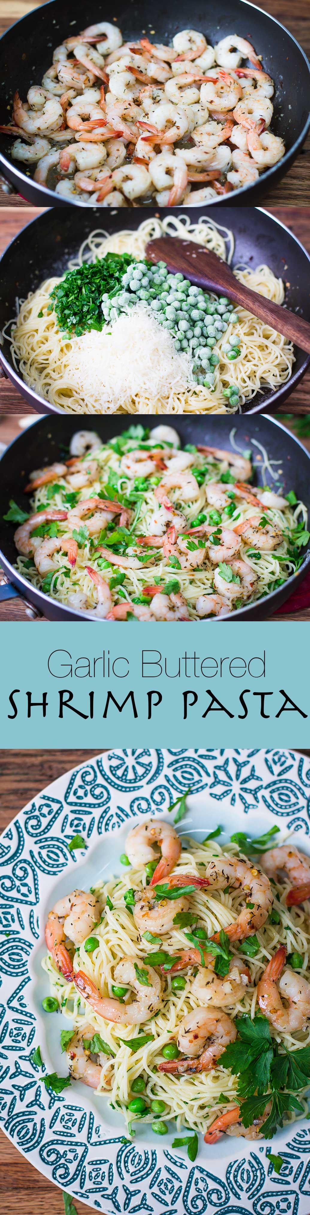 garlic-buttered-shrimp-pasta